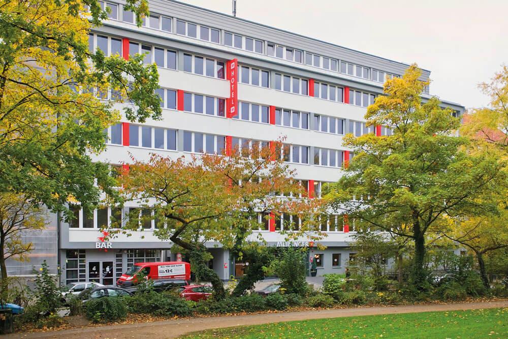 mha hamburg meininger hotel altona aussen projektwoche klassenfahrt staedtreise hostel