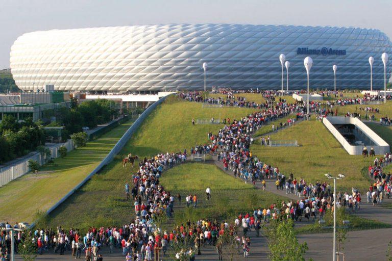 muenchen ca allianz arena stadion staedtereise projektwoche klassenfahrt nagy presseamt