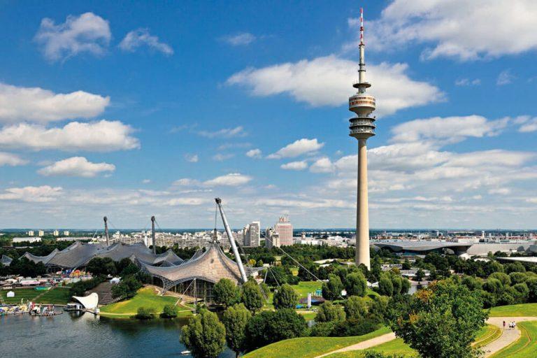 muenchen fernsehturm olympiaturm staedtereise projektwoche klassenfahrt