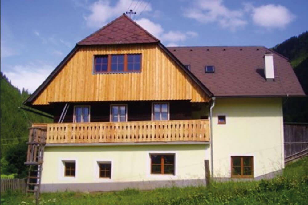 pus selbstversorgerhaus hansbauer pusterwald aussen projektwoche projekttage schullandwoche jugendherberge