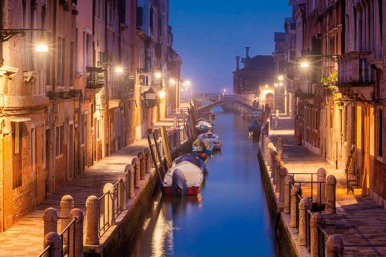 venedig kanal nacht staedtereise projektwoche klassenfahrt